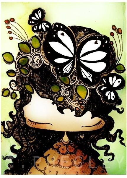 2009-08 lulu flower girl